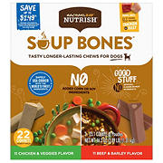 Rachael Ray Nutrish Soup Bones Variety Pack, 22 ct.