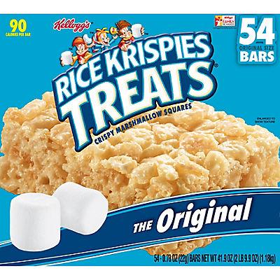 Kellogg's Rice Krispies Treats, 54 ct.