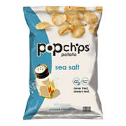 Popchips Sea Salt Chips, 16 oz.