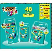 BIC Kids Coloring Kit, 48 ct.