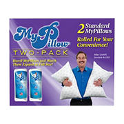 MyPillow Classic Series Standard-Size Bed Pillow, 2 pk.
