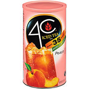 4C Peach Tea Drink Mix, 35 qt.