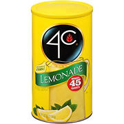 4C Lemonade Drink Mix, 13.2 oz.