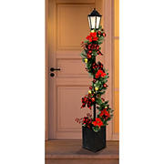 "Berkley Jensen 72"" LED Decorated Lamppost"