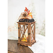 "Berkley Jensen 15.5"" Harvest Wooden Lantern"