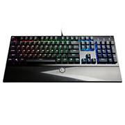 CyberPowerPC Skorpion K2 CPSK303 Mechanical Gaming Keyboard - Red
