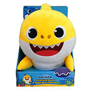 "WowWee 18"" Plush Pinkfong Baby Shark with Daddy Shark Singing Plush Clip"