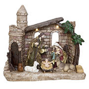 "Berkley Jensen 14"" LED Nativity Set"