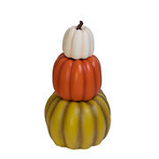 Berkley Jensen 3-Pc. Stackable Pumpkin