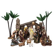 Berkley Jensen 16-Pc. Polyresin Big Nativity Set