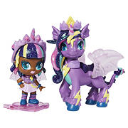 Hatchimals Pixies Riders Hatchimal Set with Mystery Feature - Unicorn