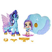 Hatchimals Pixies Riders Hatchimal Set with Mystery Feature - Seahorse