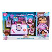 Disney Junior Doc McStuffins Lil' Nursery Pal and Toy Hospital Doctor's Bag Set - Butterfly