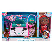 Disney Junior Doc McStuffins Lil' Nursery Pal and Toy Hospital Doctor's Bag Set - Ladybug