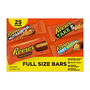 Reese's Full Sized Variety Pack, 25 ct.