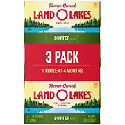 Land O'Lakes Salted Butter, 3 pk./1 lb.