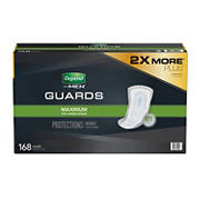 Depend Incontinence Guards for Men, 168 ct.