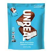 UNREAL Dark Chocolate Coconut Minis, 11.1 oz.
