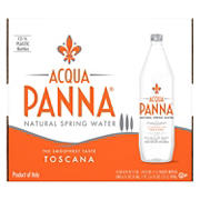 Acqua Panna Natural Spring Water, 12 ct.