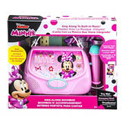 KIDdesigns Sing-Along Boombox - Minnie Mouse