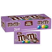 M&M'S Fudge Brownie Candy, 24 ct.