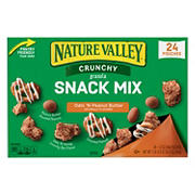 Nature Valley Crunchy Oats 'N Peanut Butter Snack Mix, 24 ct.