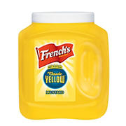 French's Yellow Mustard, 105 oz.