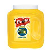 French's Yellow Mustard, 105 oz.