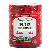 Mega Food B12 Organic Energy Cranberry Gummy, 100 ct.