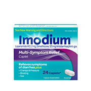 Imodium Multi-Symptom Relief Caplets, 24 ct.