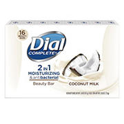 Dial Complete 2 in 1 Coconut Milk Bar Soap, 16 ct.