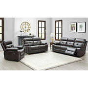 Wilson 3-Piece Manual Reclining Set