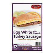 Sandwich Bros Turkey Sausage Egg White, 12 ct.