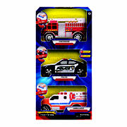Supreme Machines Light & Sound Vehicles, 3 pk. - Ambulance
