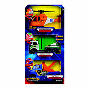 Supreme Machines Light & Sound Vehicles, 3 pk. - Helicopter