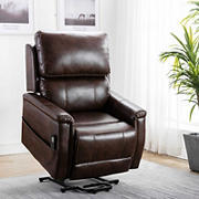Lifesmart Doris Power Lift Chair - Brown
