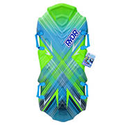 """RYDR 48"""" M12 Molded Snow Sled - Green/Blue"""