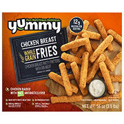 Yummy All Natural Whole Grain Chicken Breast Fries, 3.5 lbs.