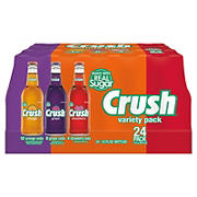 Crush Real Sugar Variety Pack, 24 ct.