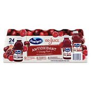 Ocean Spray 100% Juice Antioxidant Variety Pack, 24 ct./10 oz.
