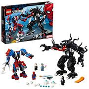 LEGO Marvel Spider-Man: Spider Mech vs Venom 76115 Building Kit, 604 Pc.