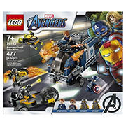 LEGO Marvel Avengers Truck Take-Down 76143 Building Kit, 477 Pc.