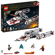LEGO Star Wars: The Rise of Skywalker Resistance Y-Wing Starfighter 75249 Building Kit, 578 Pc.