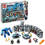 LEGO Marvel Avengers Iron Man Hall of Armor 76125 Building Kit, 524 Pc.