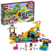 LEGO Friends Andrea's Pool Party 41374 Building Kit, 468 Pc.