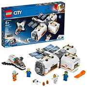 LEGO City Lunar Space Station 60227 Building Kit, 412 Pc.
