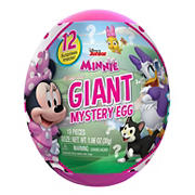 Giant Mystery Egg Toy Capsule - Disney Junior Minnie Mouse