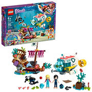 LEGO Friends Dolphins Rescue Mission 41378 Building Set, 363 Pc.