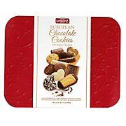 Lambertz European Chocolate Cookies Red Tin