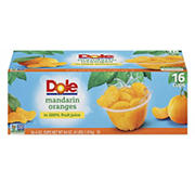 Dole Mandarin Oranges, 16 pk./4 oz.